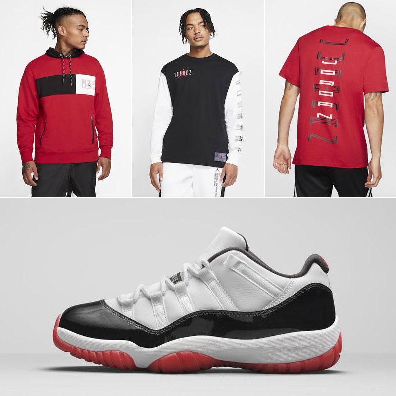 jordan-11-low-bred-concord-clothing-match