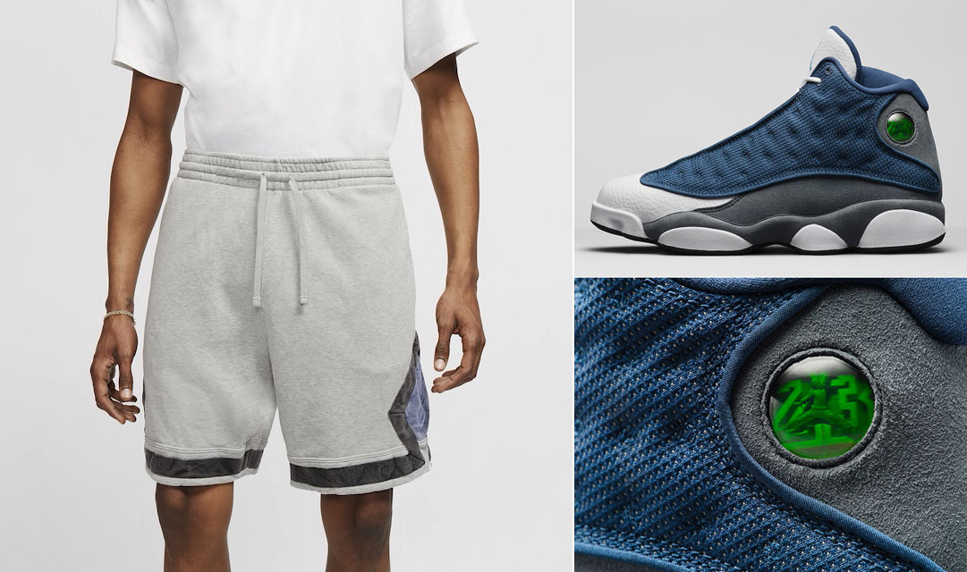jordan-13-flint-grey-shorts