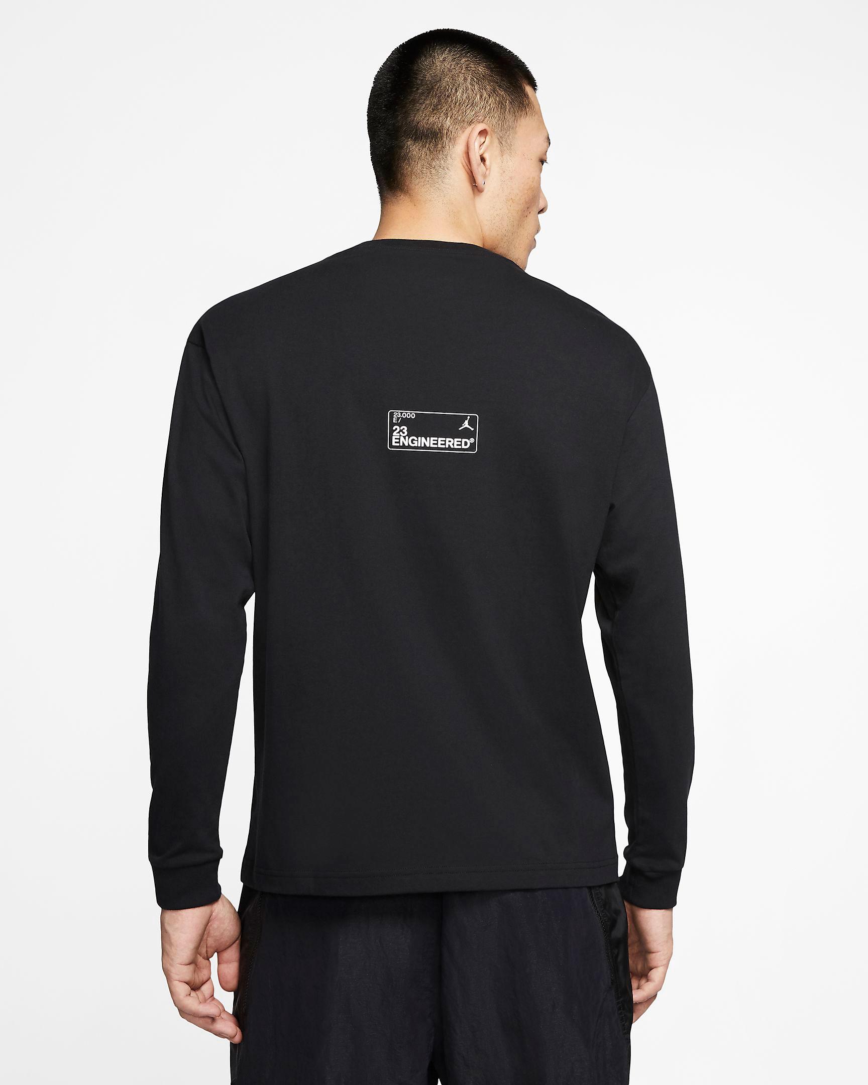 jordan-23-engineered-long-sleeve-shirt-black-red-2