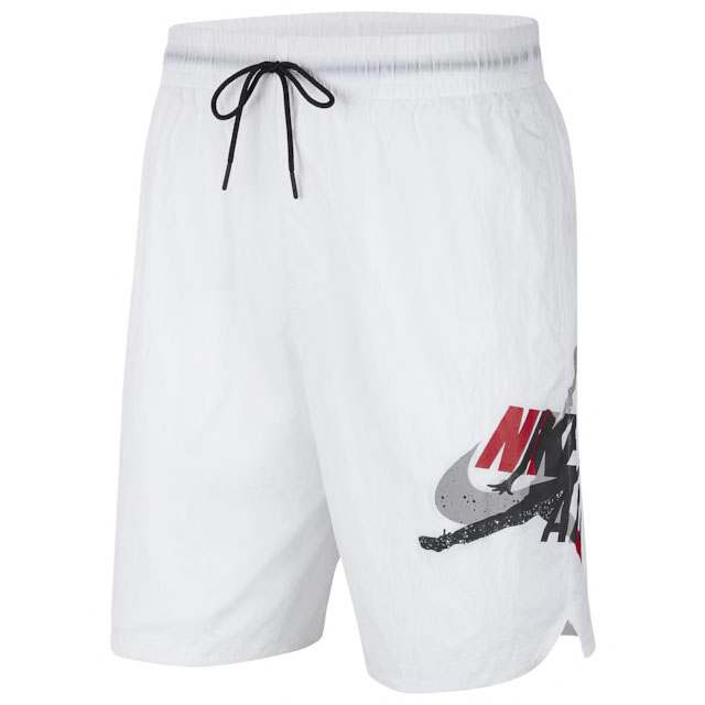 jordan-5-fire-red-poolside-shorts-1