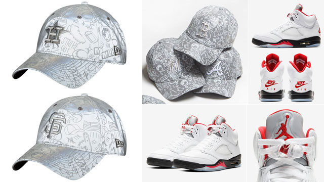 jordan-5-fire-red-reflective-caps