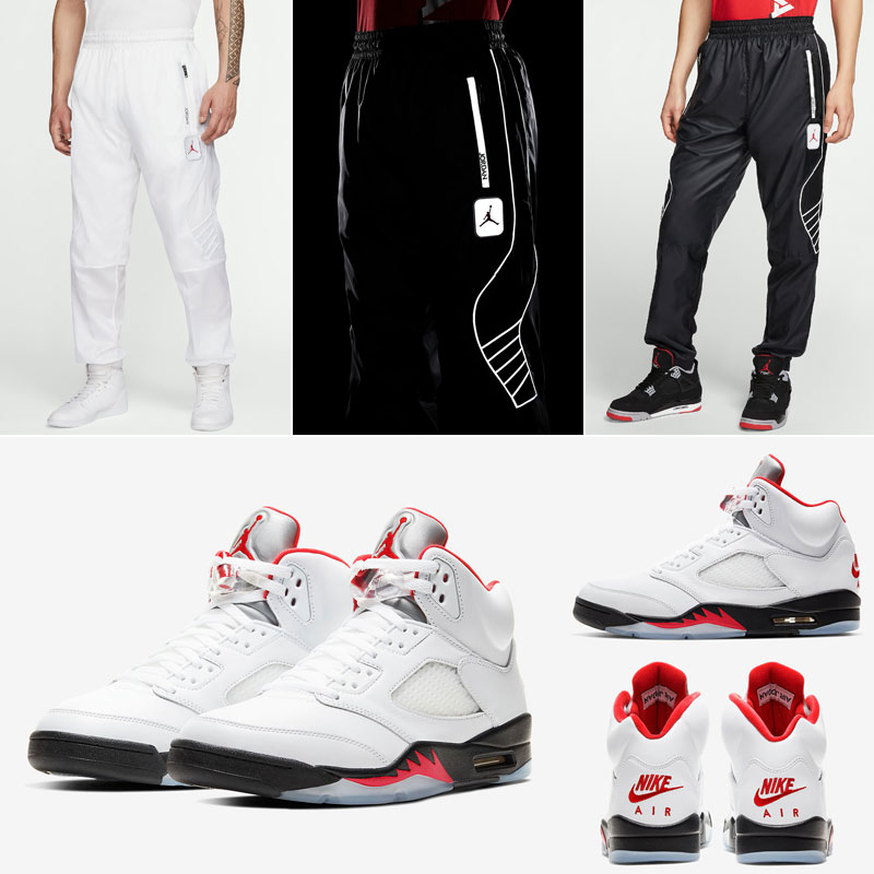 jordan-5-fire-red-reflective-pant