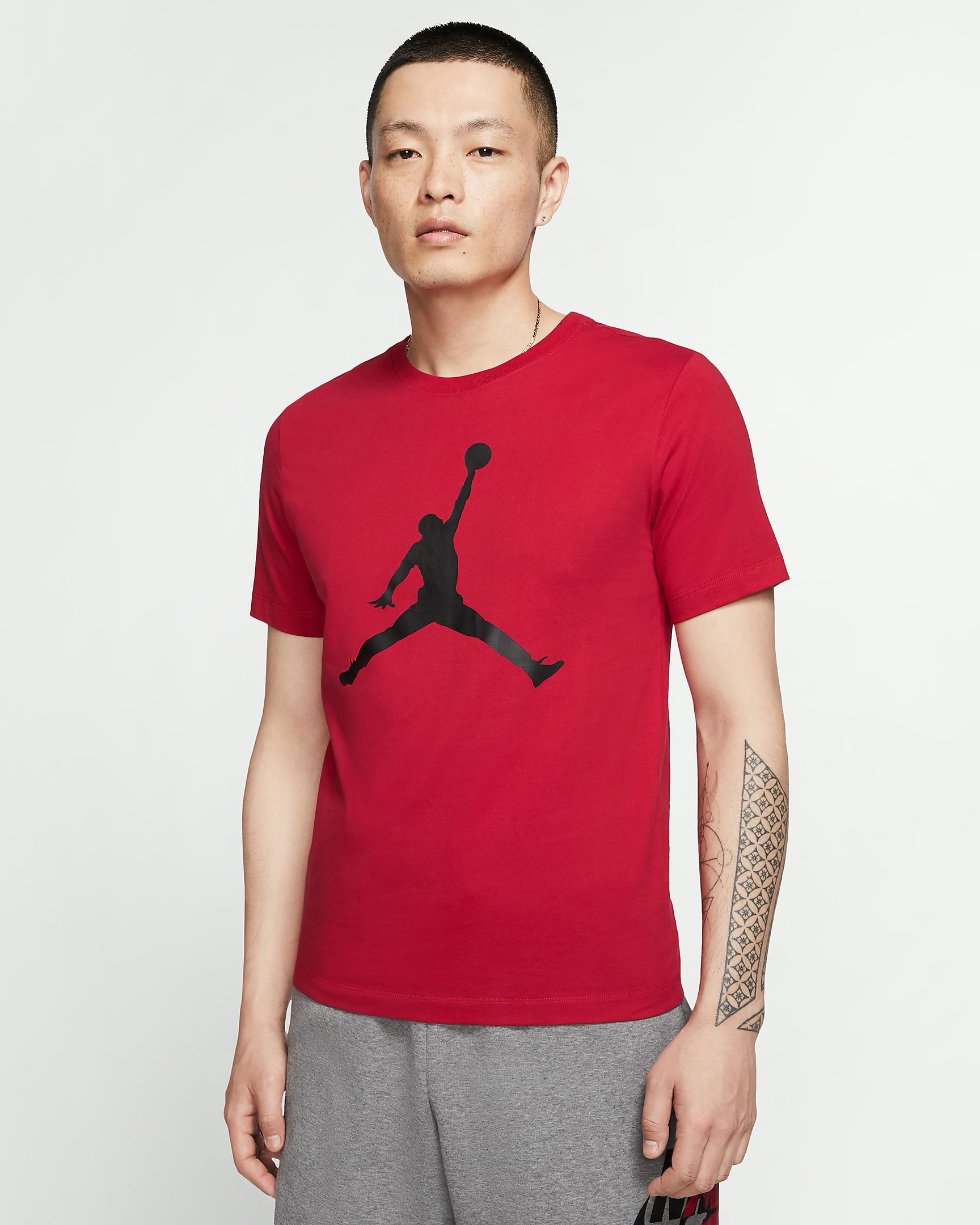 jordan-fire-red-jumpman-shirt