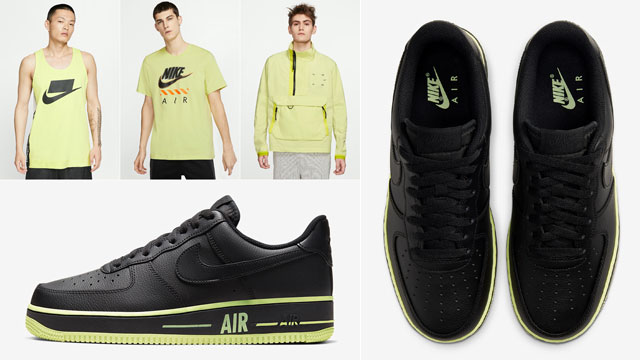 air force 1 black outfits