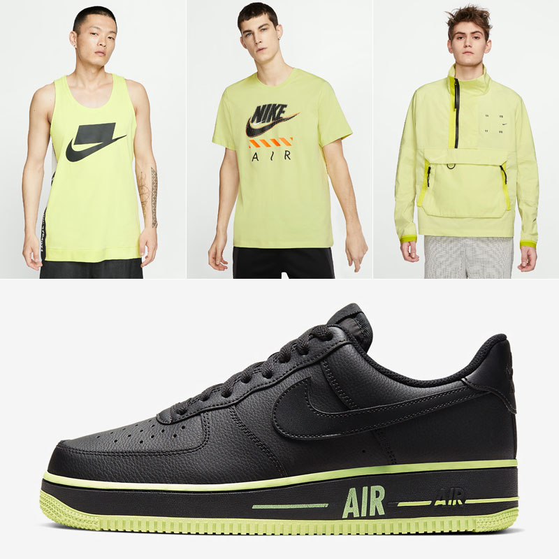 nike-air-force-1-black-volt-clothing