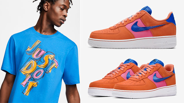 nike-air-force-1-orange-trance-sneaker-tee-match