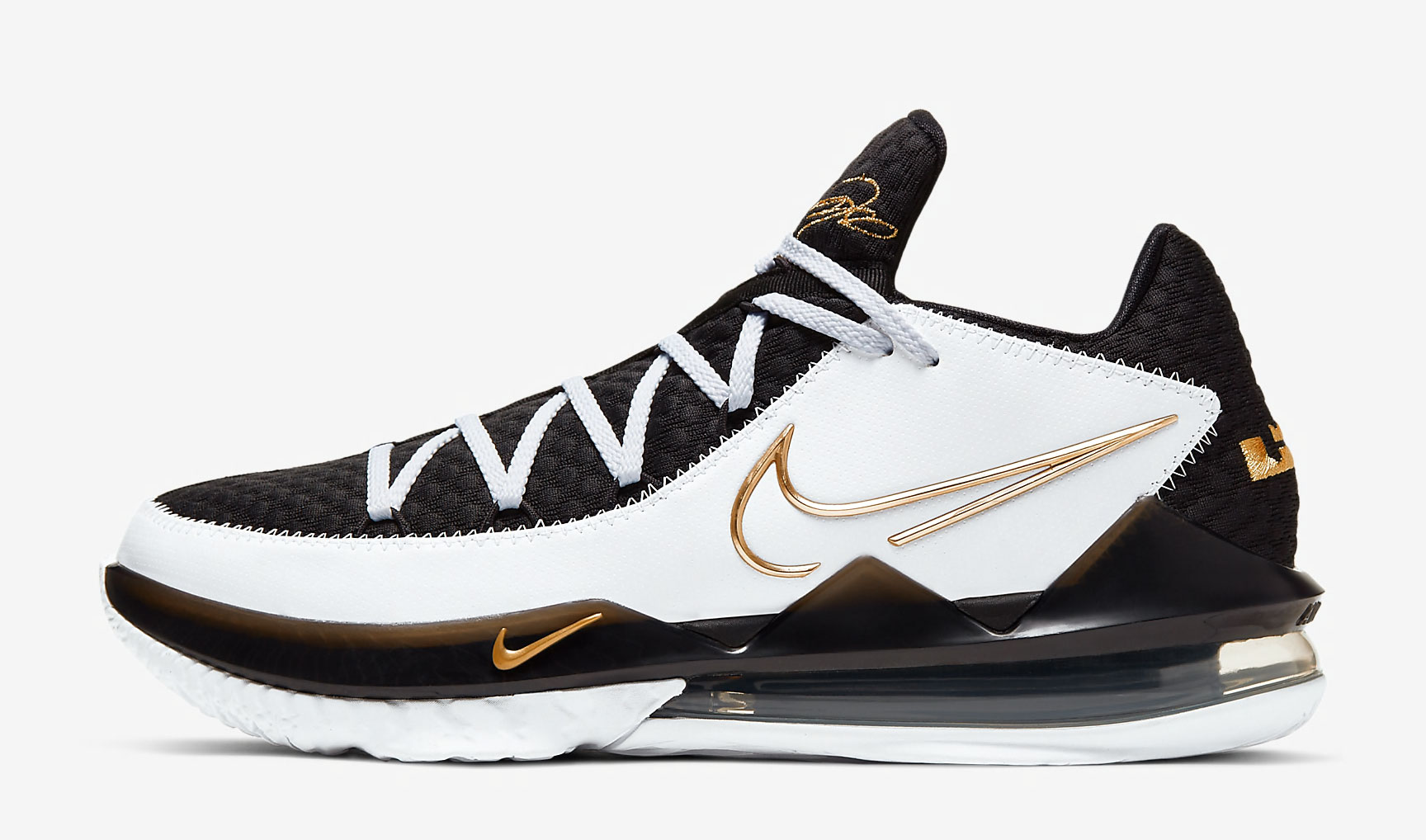 nike-lebron-17-low-white-black-gold-release-date