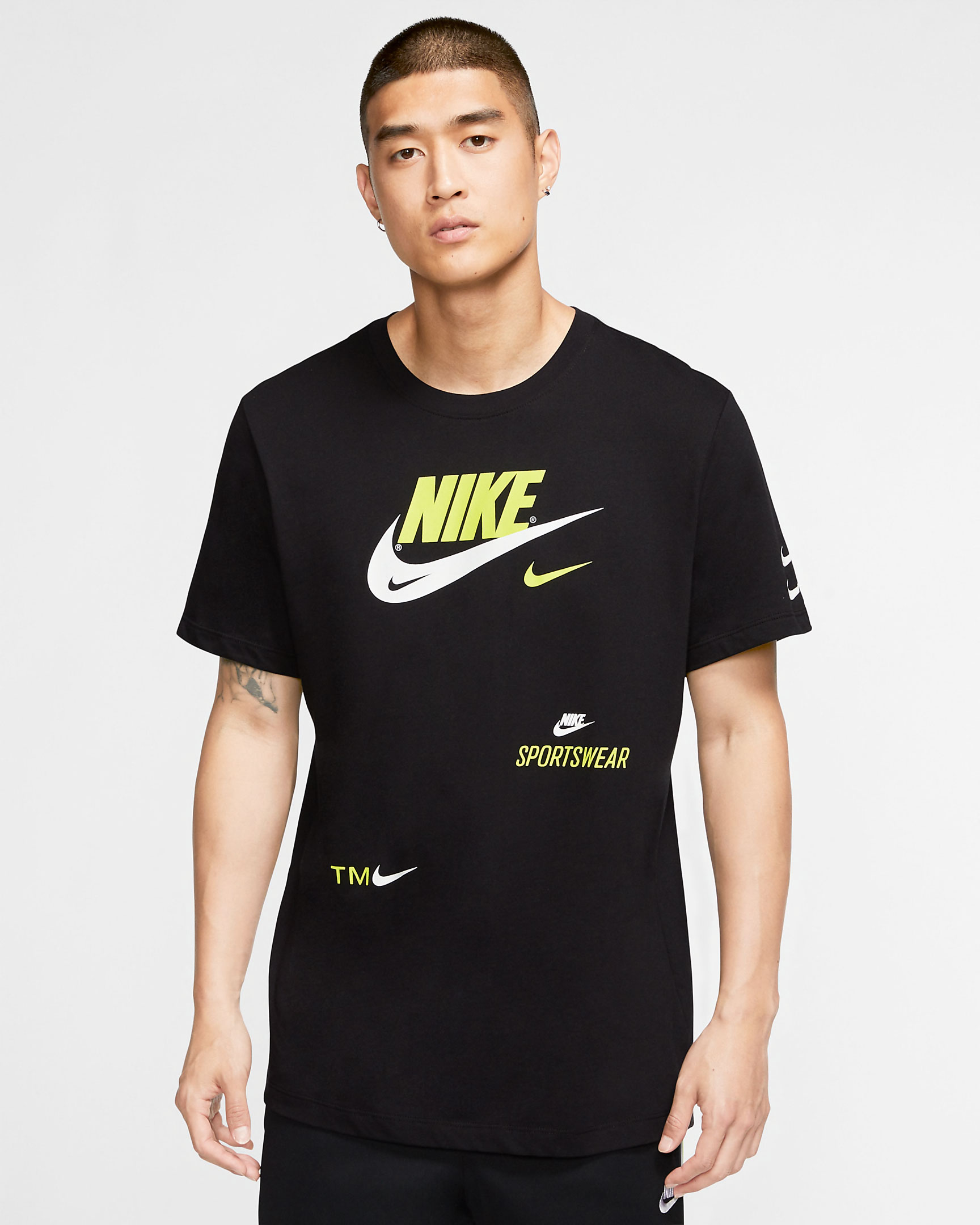 nike-sportswear-black-volt-multi-swoosh-shirt