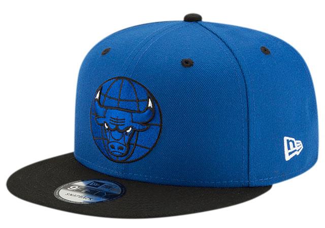 royal-toe-jordan-1-bulls-snapback-hat-1