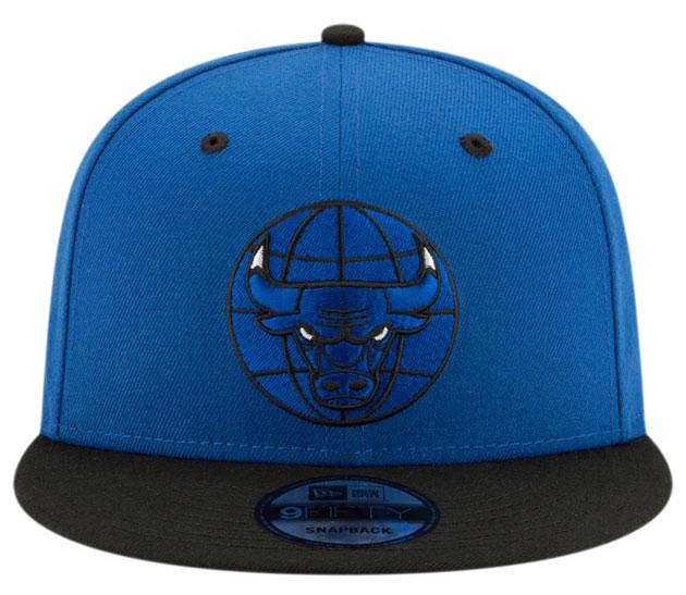 royal-toe-jordan-1-bulls-snapback-hat-2
