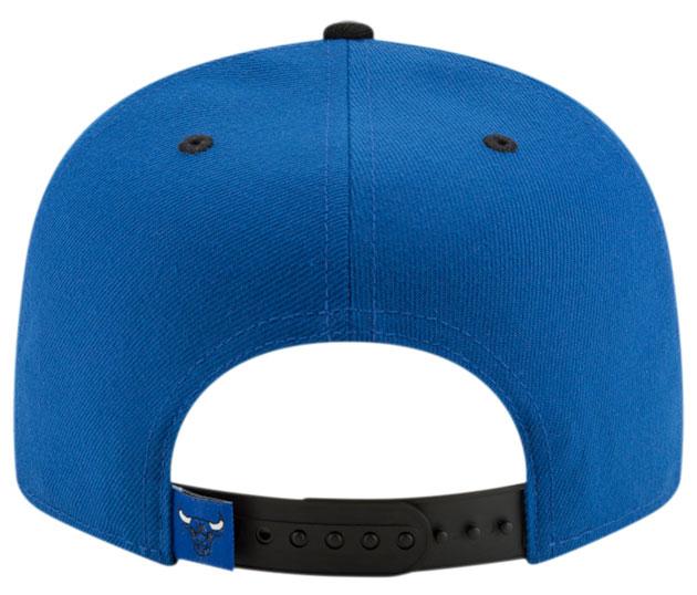 royal-toe-jordan-1-bulls-snapback-hat-4