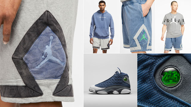 air-jordan-13-flint-2020-matching-shorts