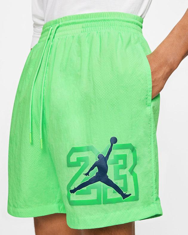 air-jordan-13-flint-green-shorts