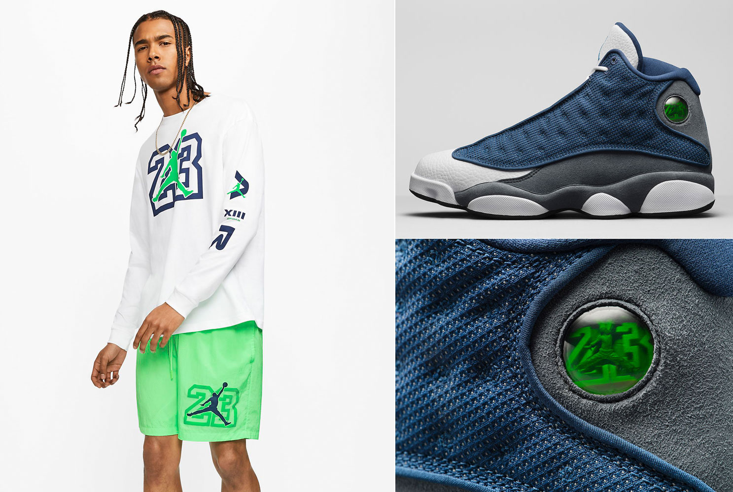 Air Jordan 13 Flint Sneaker Outfits Sneakerfits Com