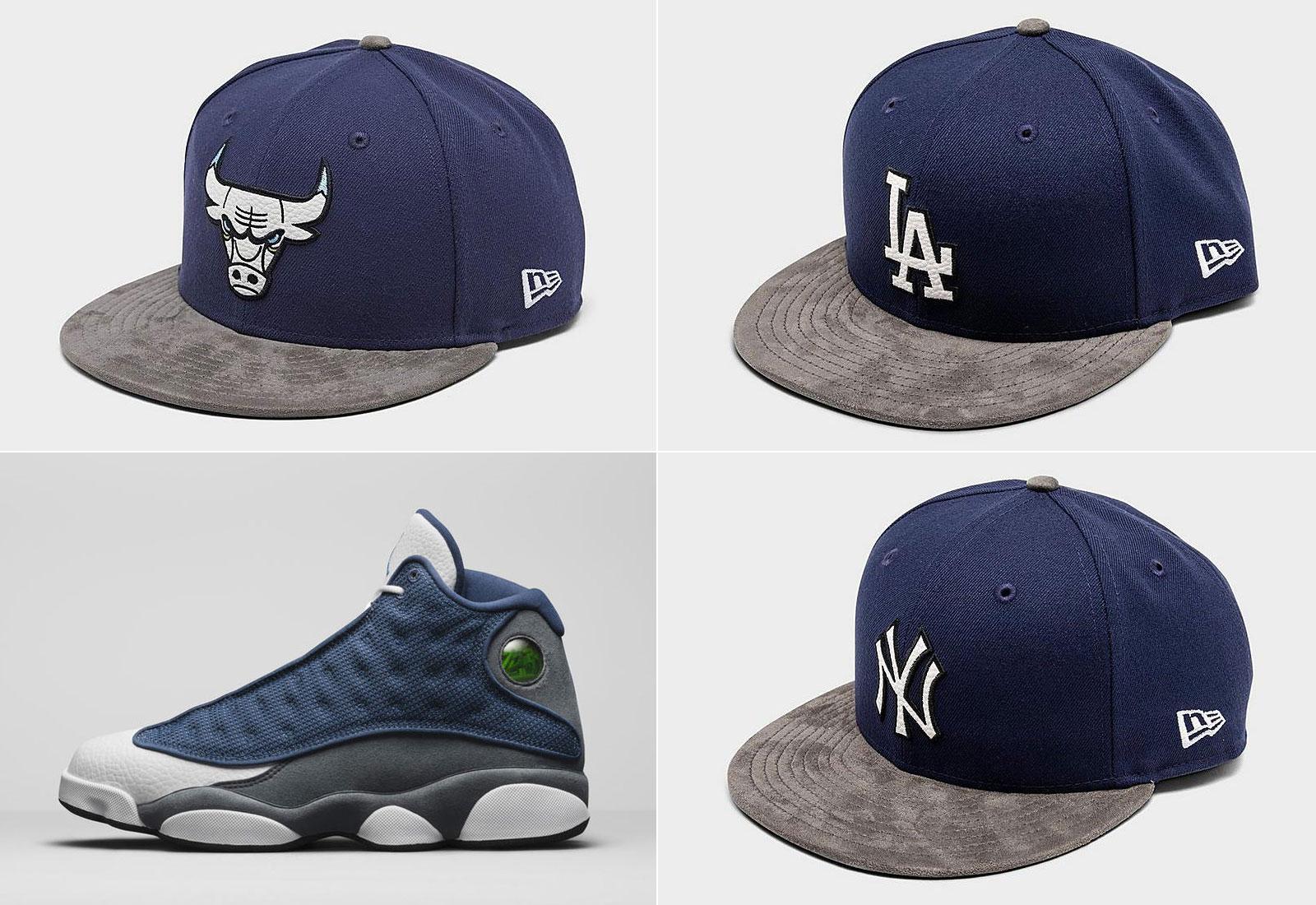 air-jordan-13-flint-new-era-hats