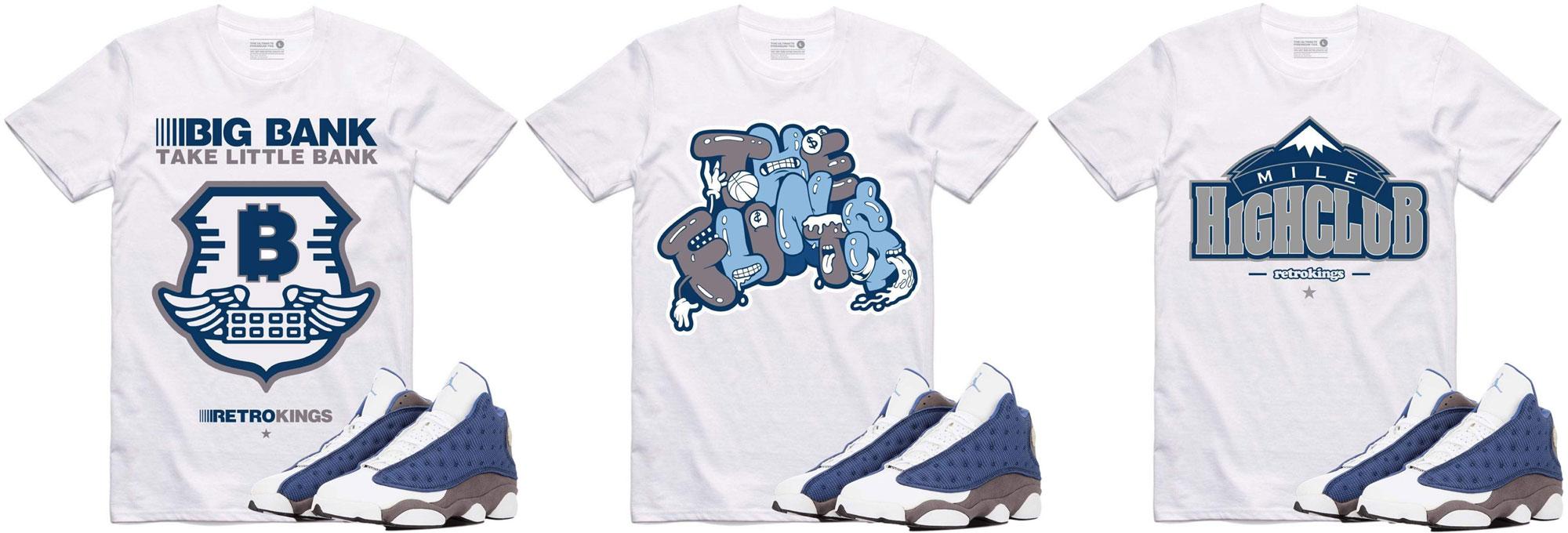 air-jordan-13-flint-sneaker-match-shirts