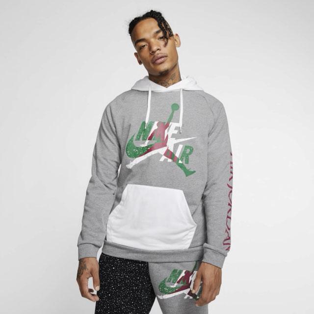 air-jordan-4-green-metallic-hoodie-match