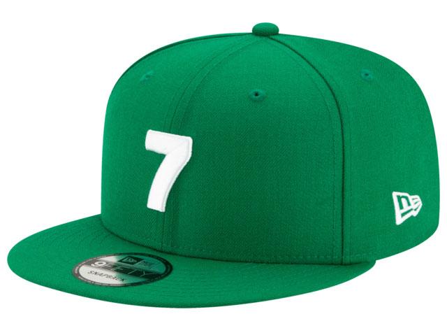 air-jordan-4-metallic-green-hat-match-1