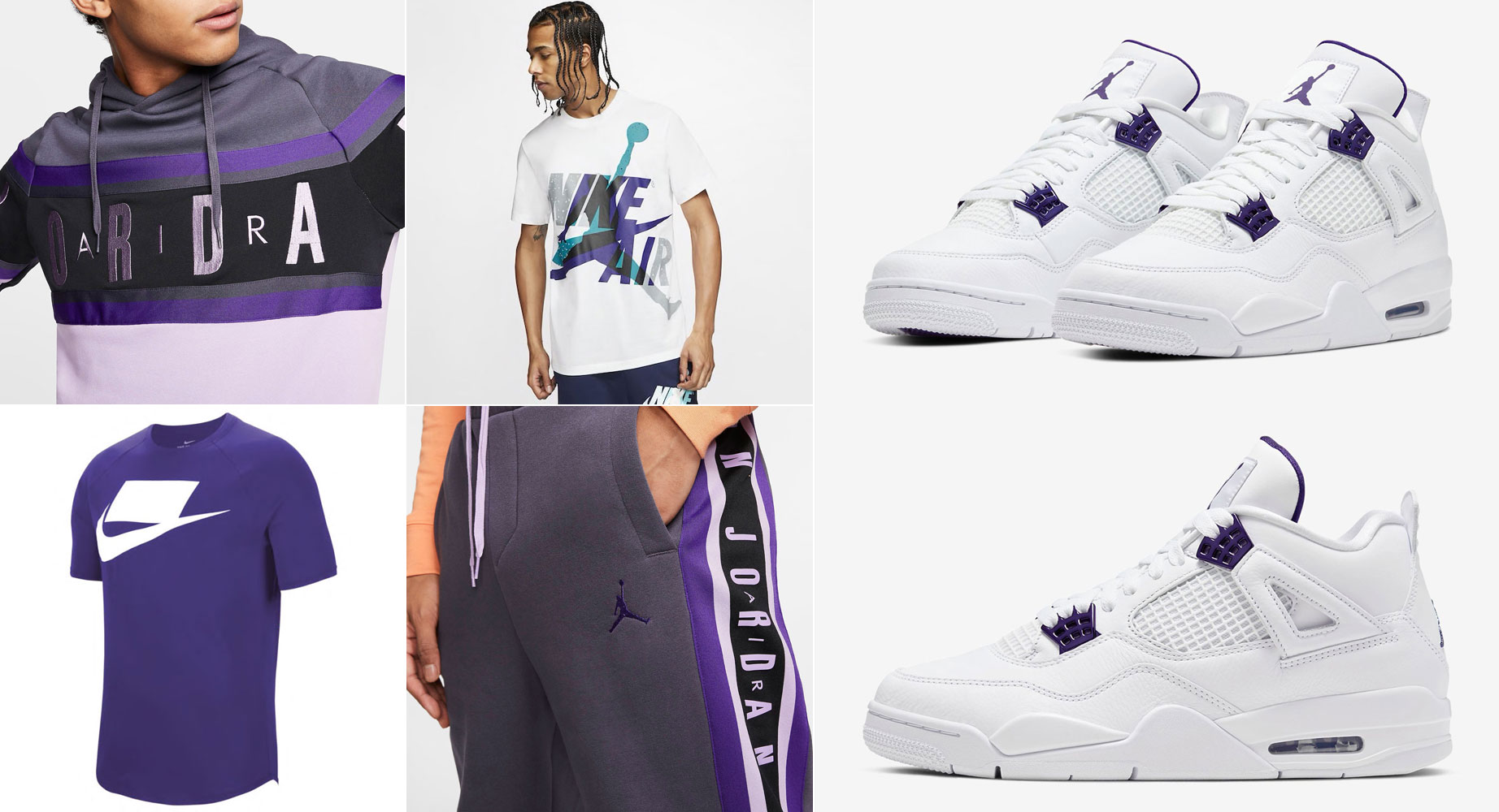 air-jordan-4-metallic-purple-clothing-outfits
