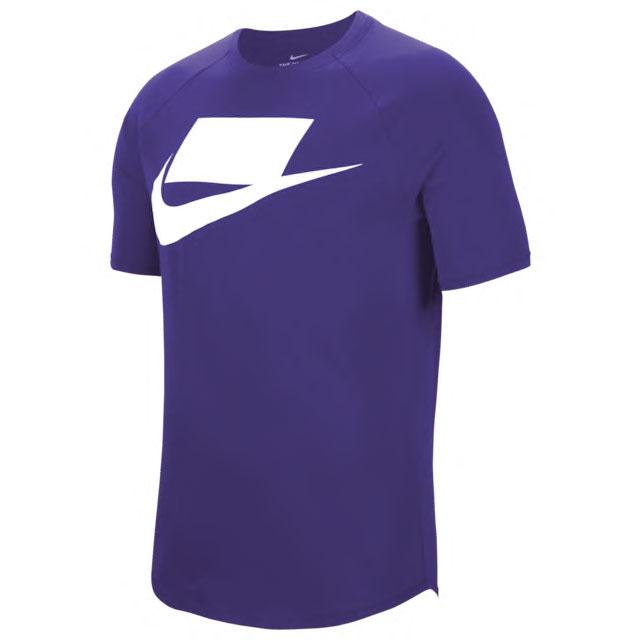 air-jordan-4-metallic-purple-nike-shirt-match