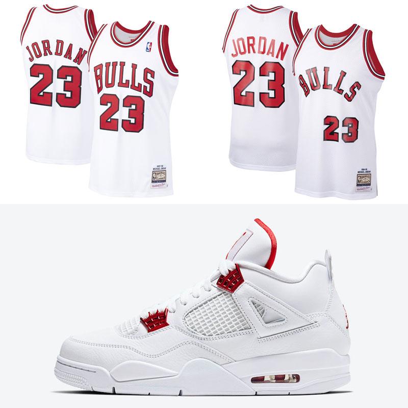 air-jordan-4-metallic-red-michael-jordan-bulls-jerseys