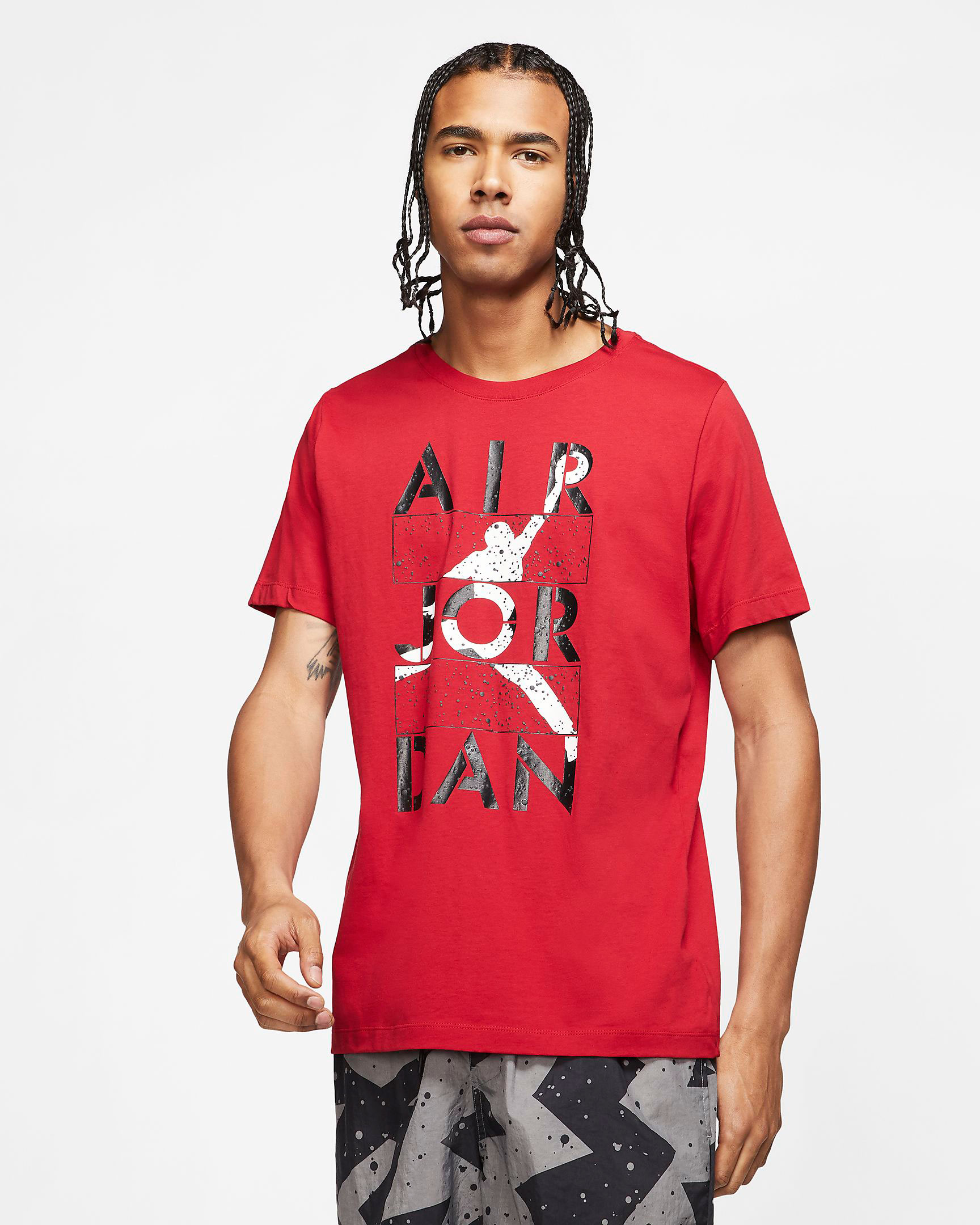 air-jordan-4-red-metallic-shirt-match-3