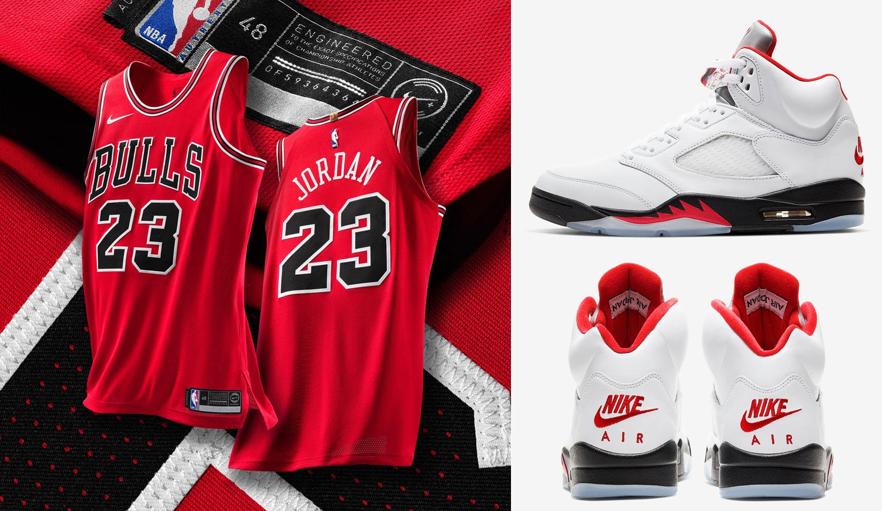 air-jordan-5-fire-red-2020-bulls-clothing-match