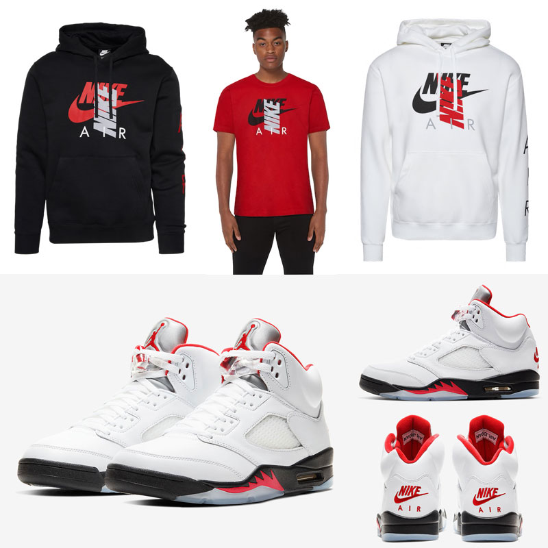 air-jordan-5-fire-red-nike-air-clothing