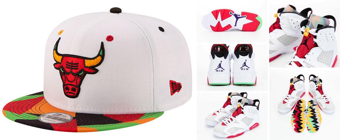 air-jordan-6-hare-bulls-snapback-hat