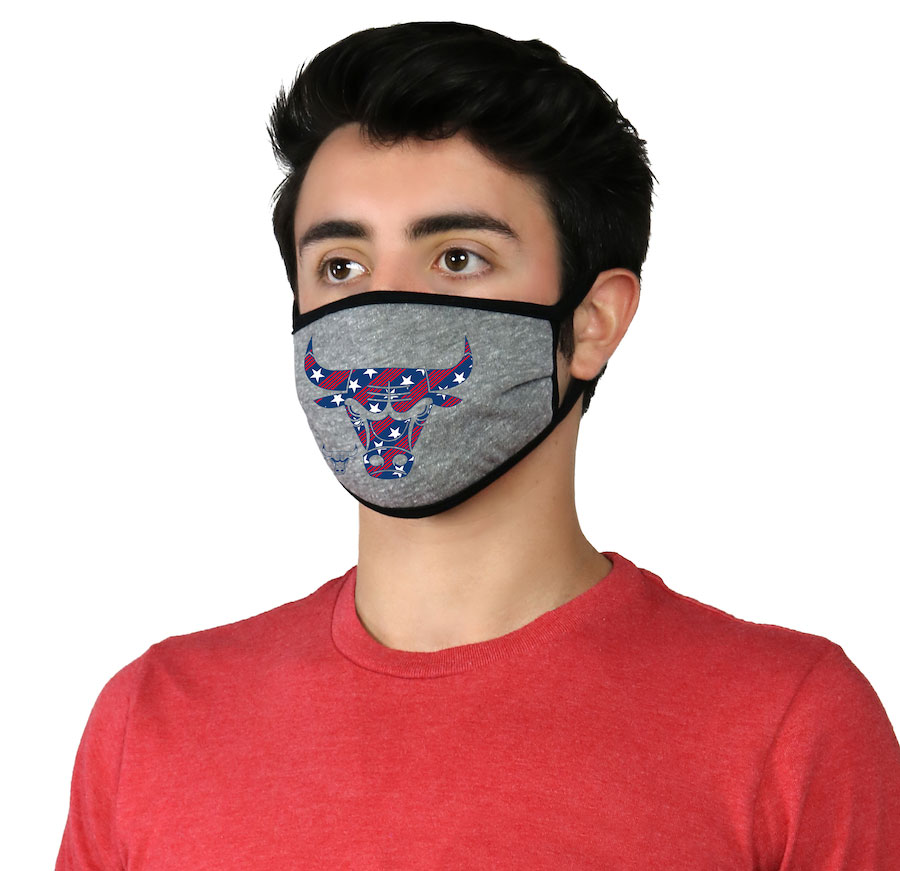 chicago-bulls-face-mask-covering-americana-usa