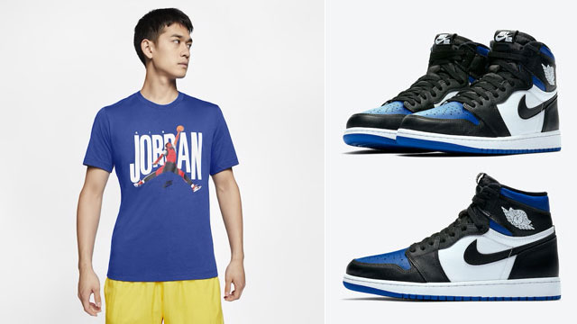 game-royal-jordan-1-high-sneaker-shirt