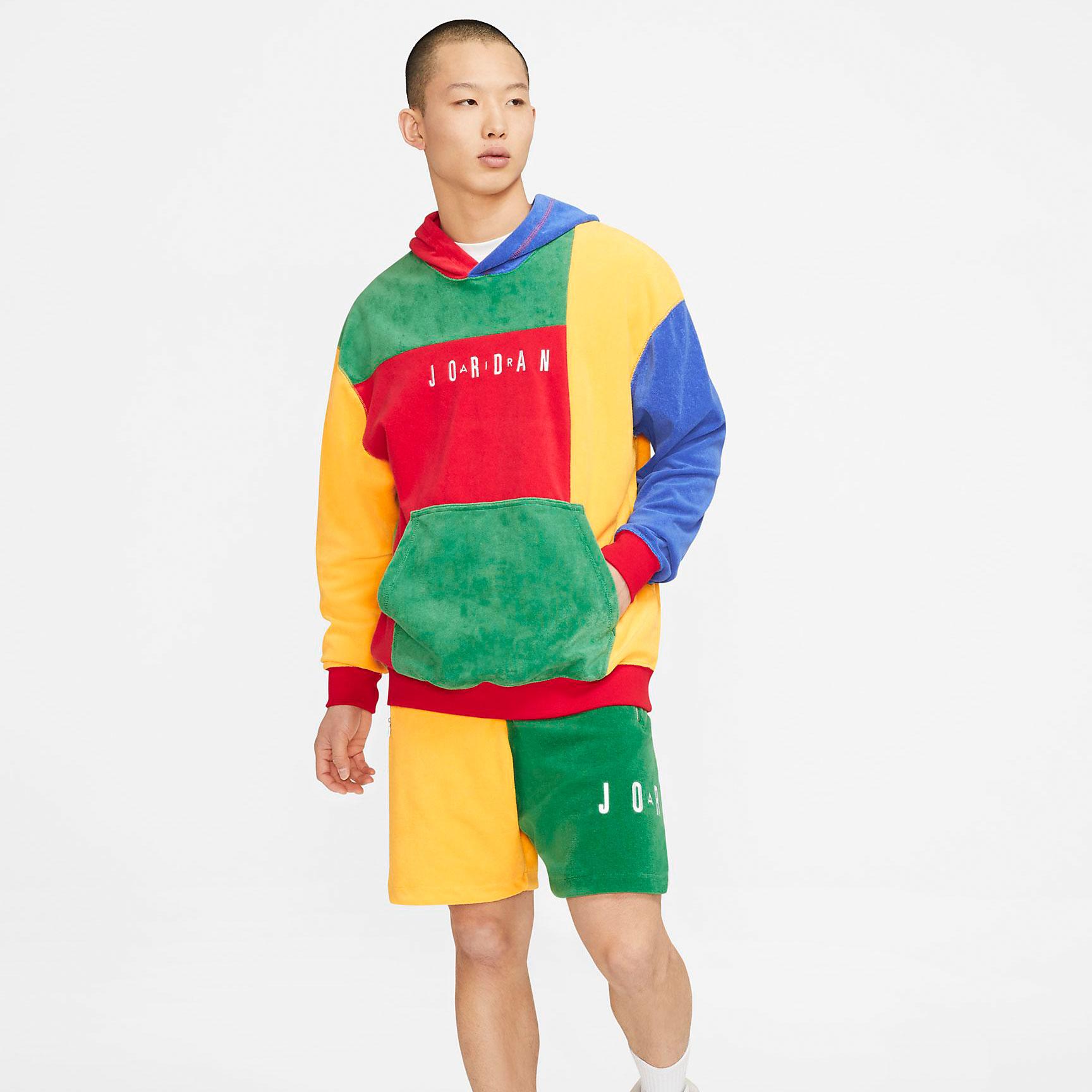 hare-jordan-6-hoodie-shorts-sneaker-outfit