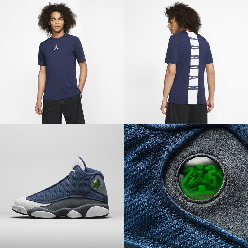 jordan-13-flint-navy-shirt-match