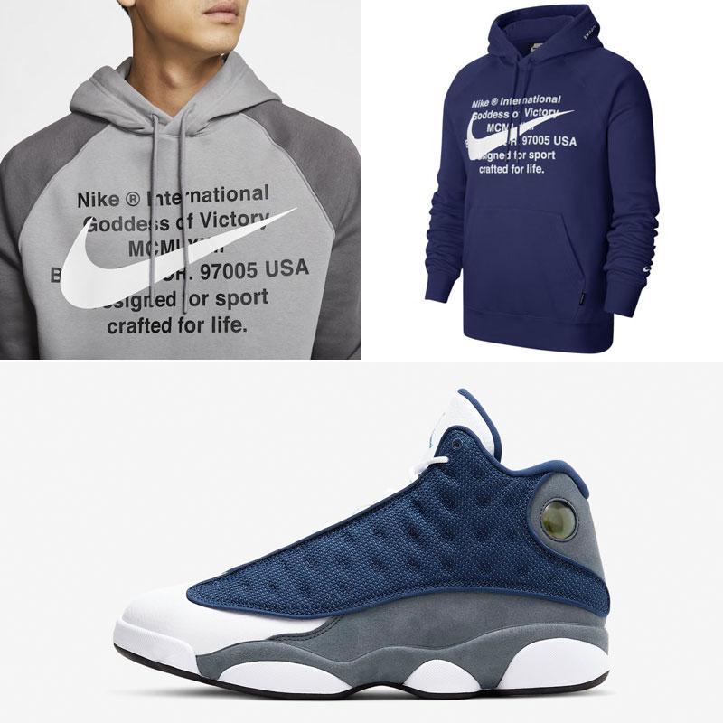jordan-13-flint-nike-hoodies