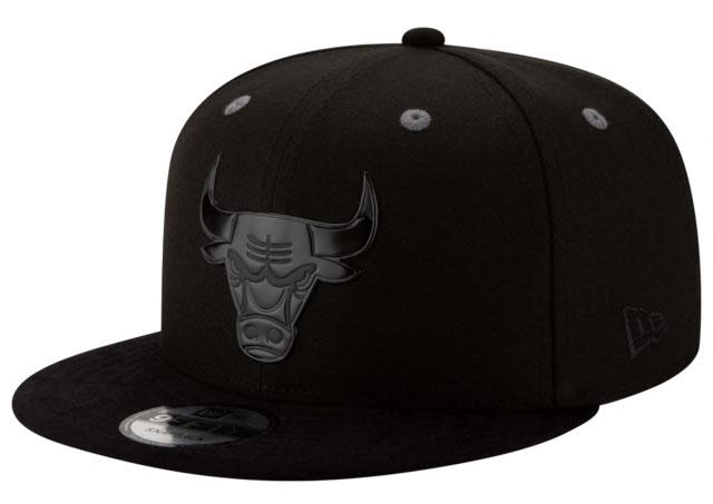 jordan-4-black-cat-sneaker-hook-snapback-hat