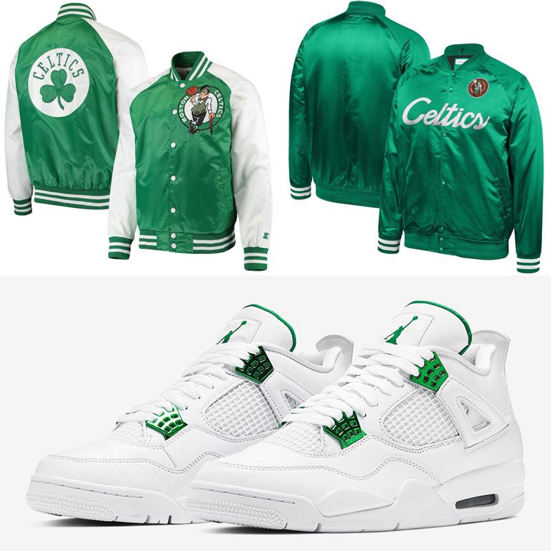 jordan-4-metallic-green-celtics-jackets