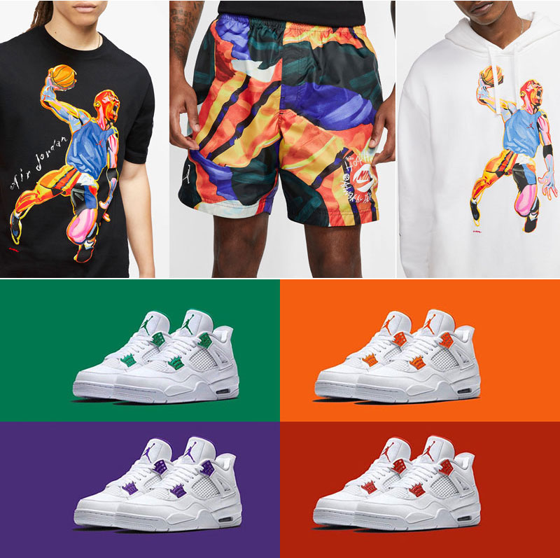jordan-4-metallic-pack-apparel-match