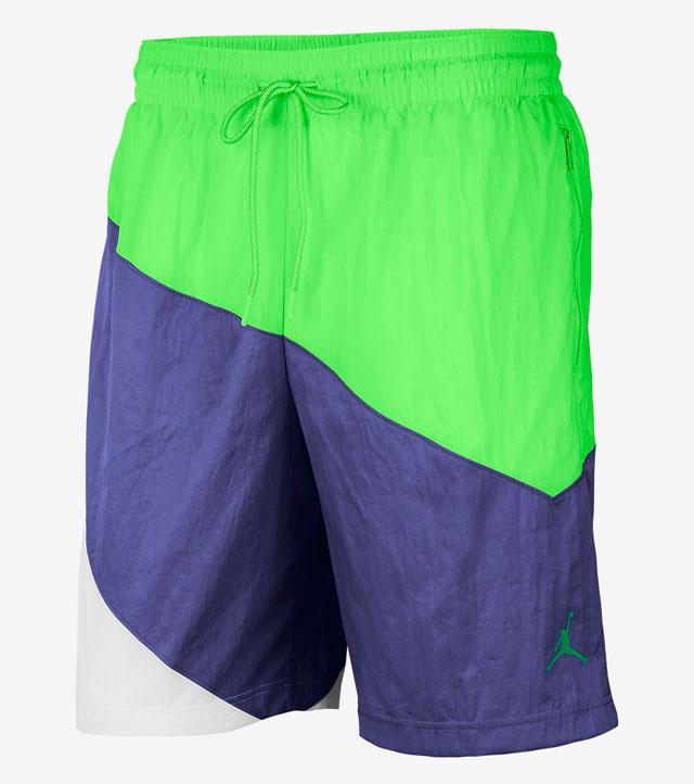 jordan-4-purple-metallic-shorts-match