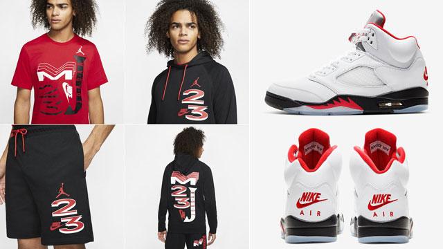 jordan-5-fire-red-clothes-match