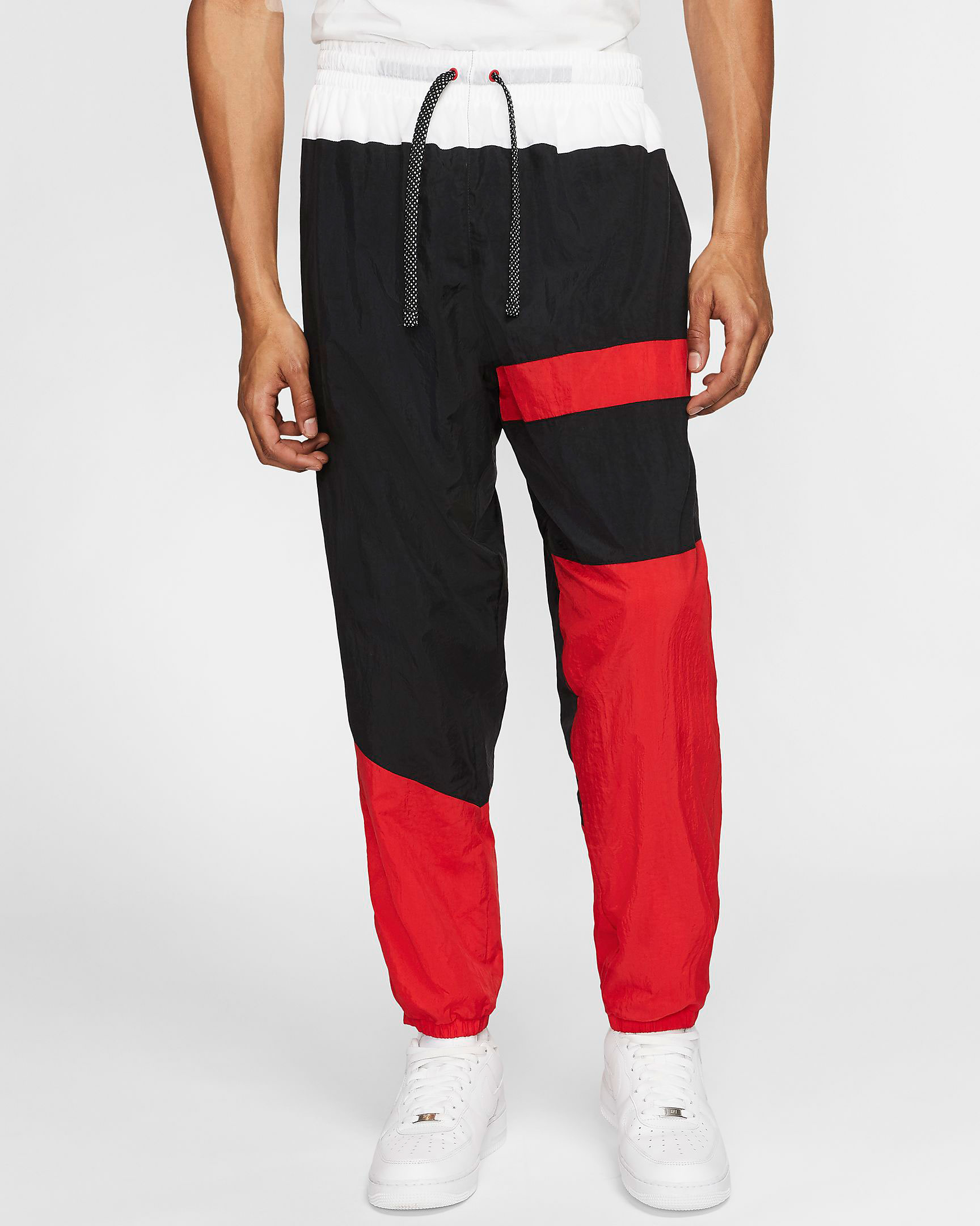 jordan-5-fire-red-nike-flight-pants-1