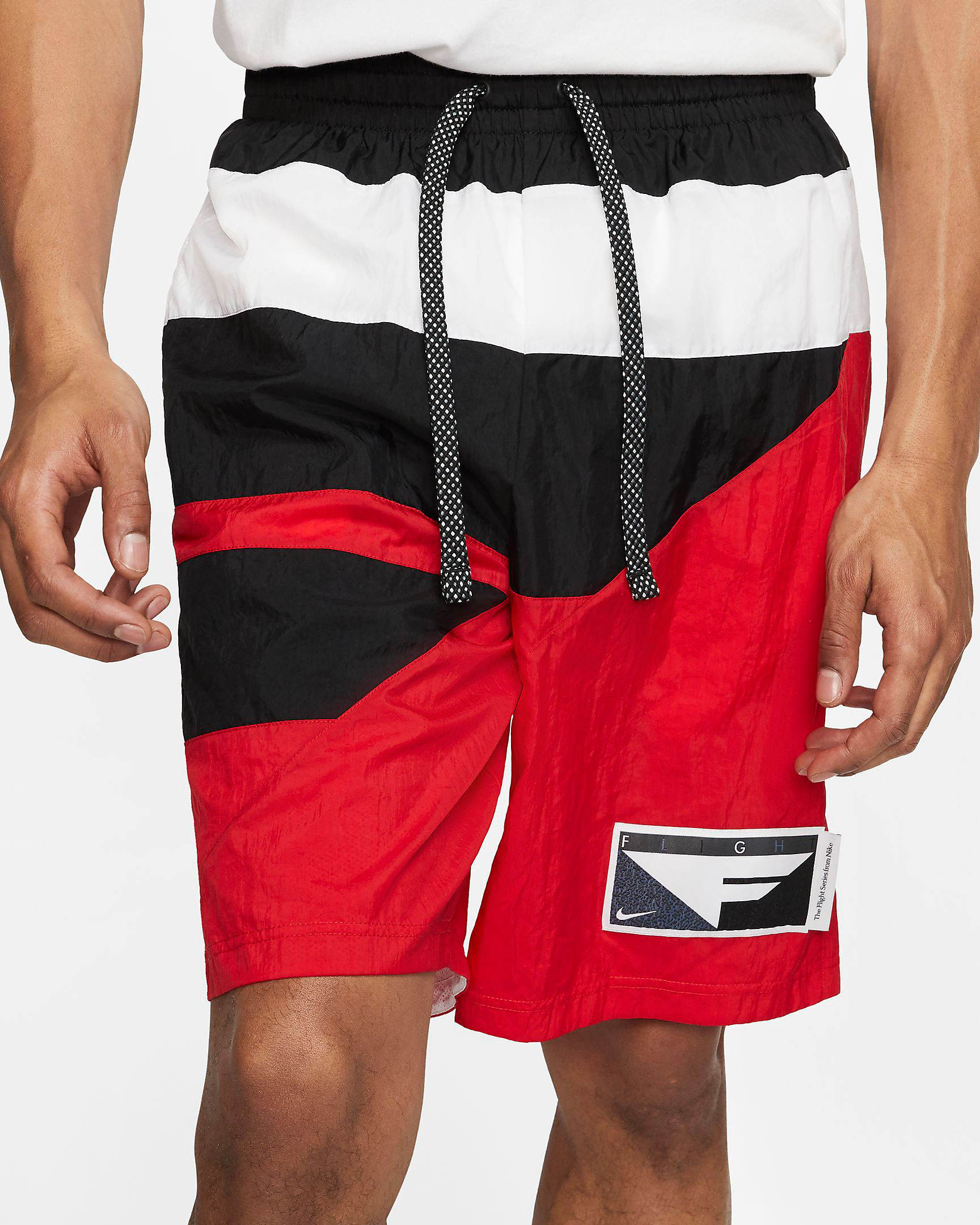 jordan-5-fire-red-nike-flight-shorts-1