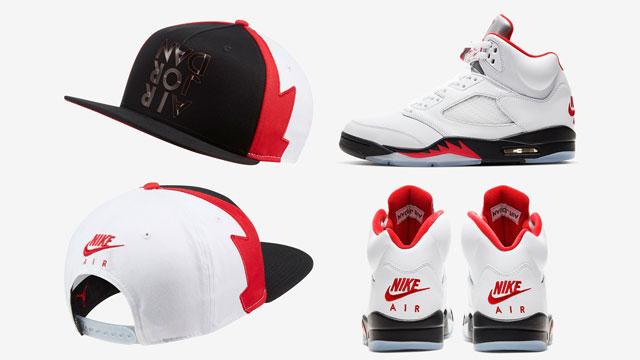 jordan-5-fire-red-silver-tongue-cap