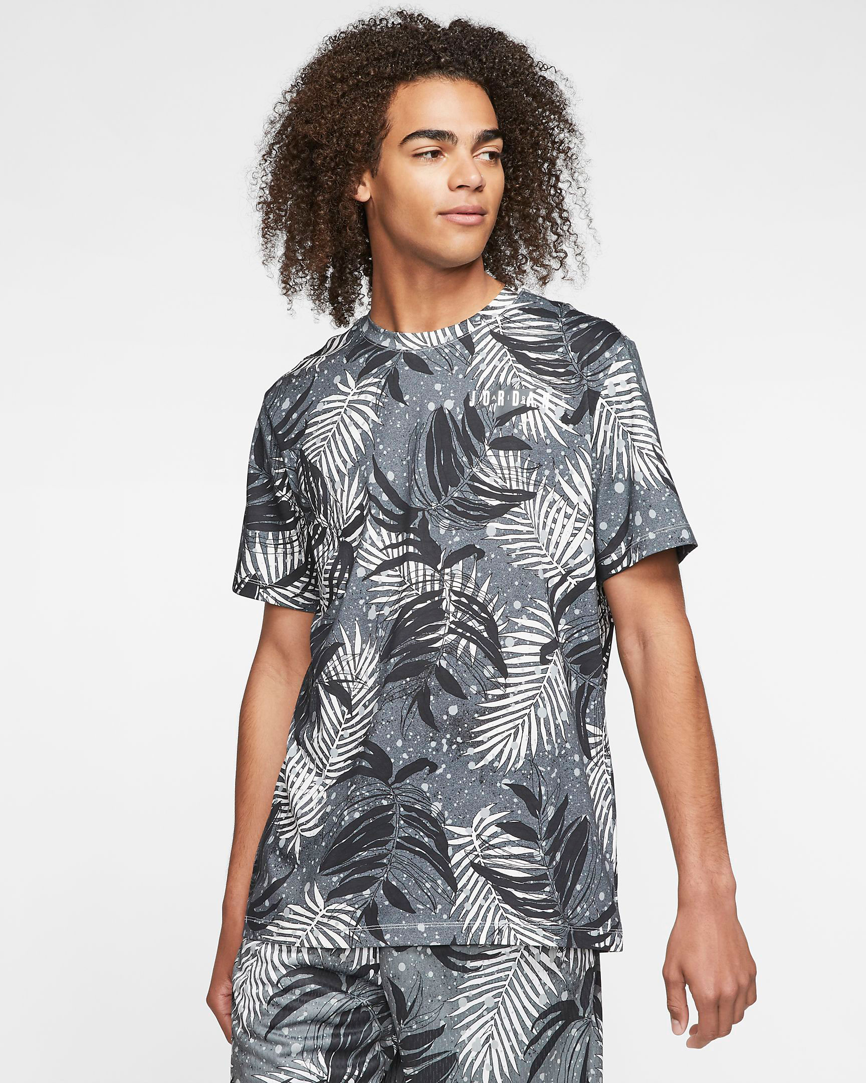 jordan-floral-printed-top-grey-black