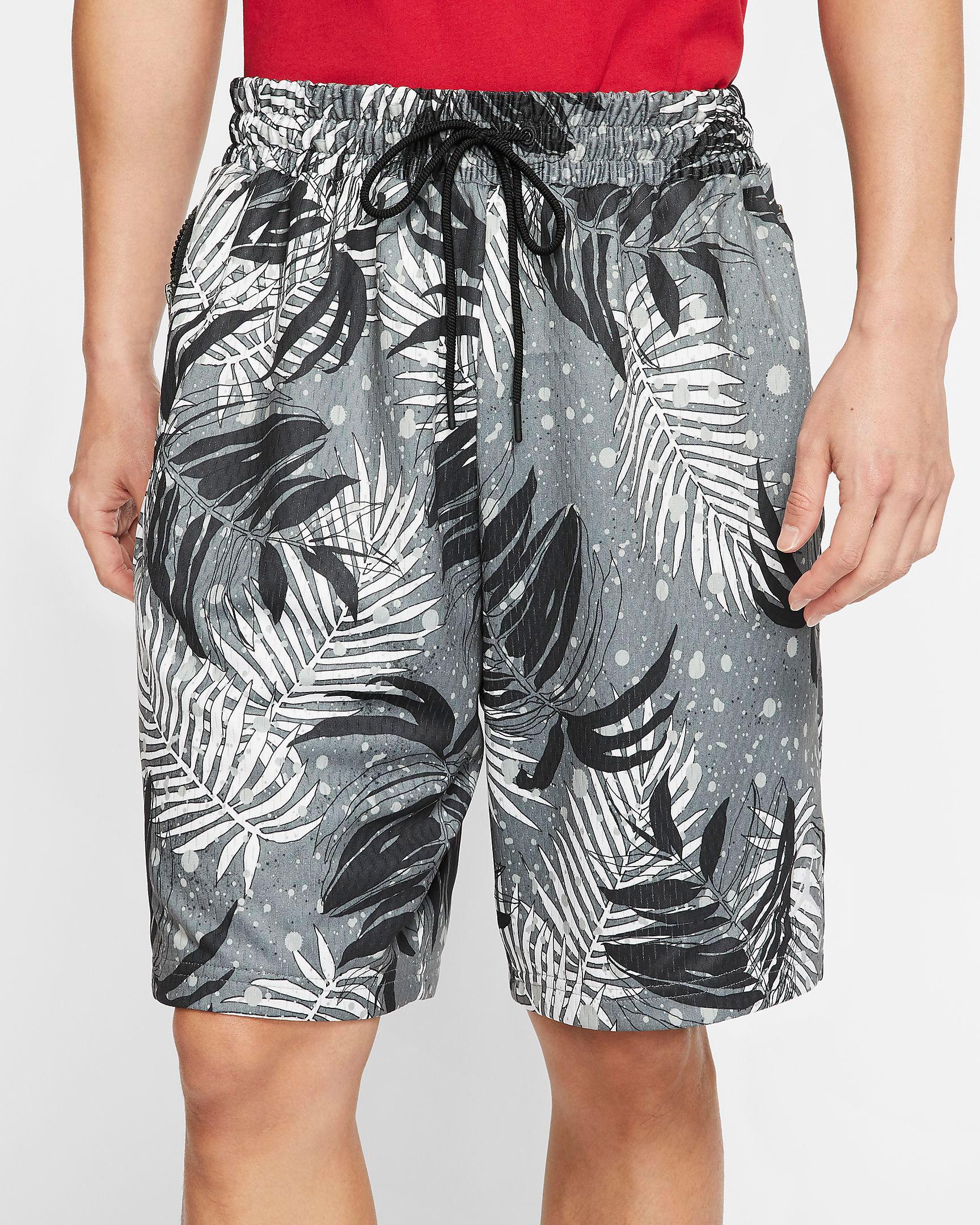 jordan-poolside-floral-shorts-black-grey