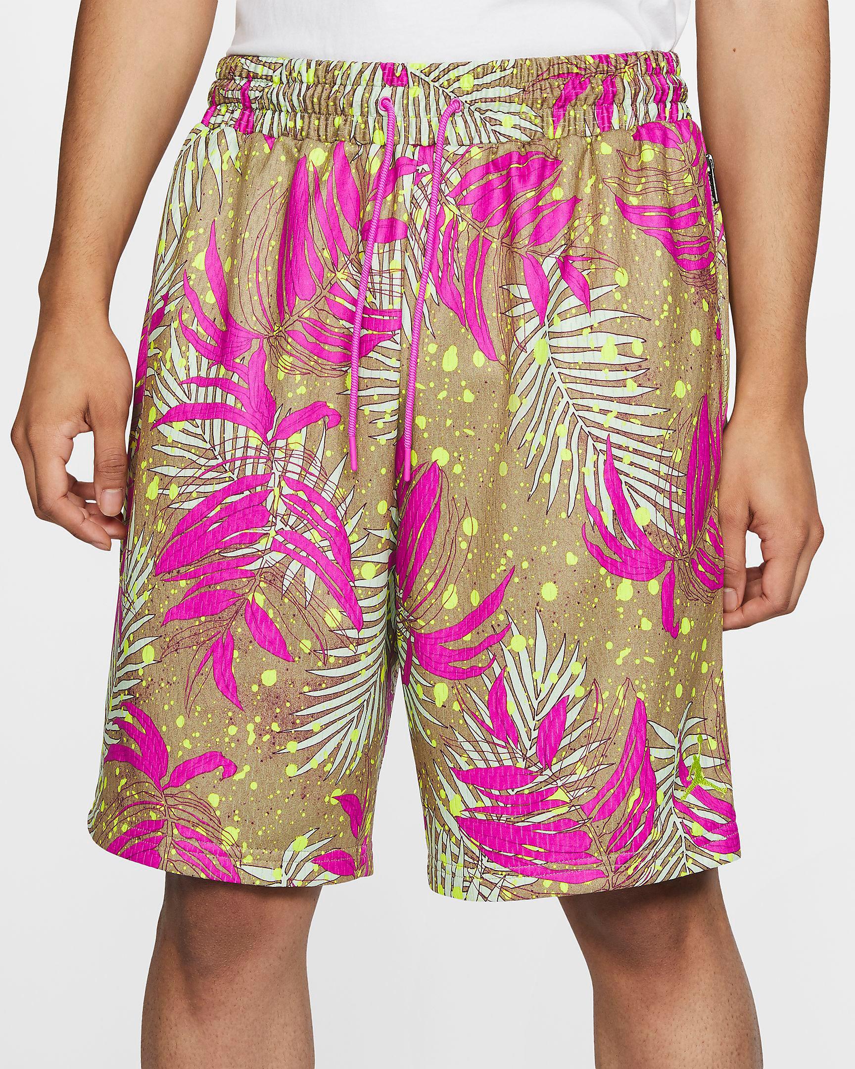 jordan-poolside-print-shorts-fuchsia