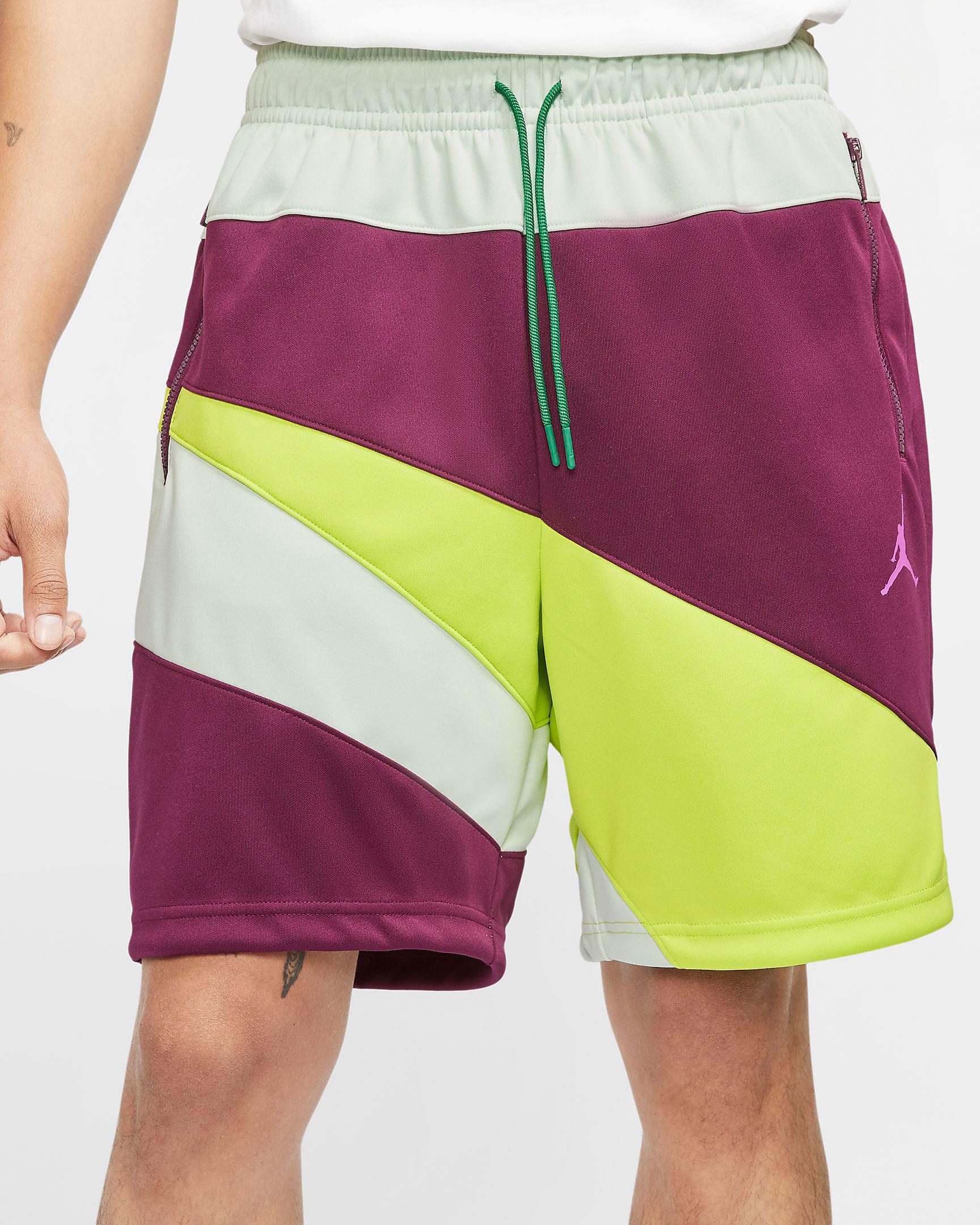 jordan-wave-shorts-bordeaux-fuchsia-cyber