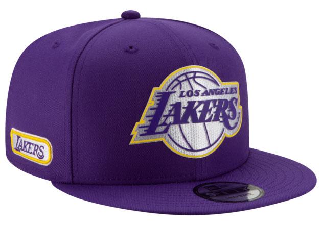 jordn-4-purple-metallic-lakers-snapback-cap-2