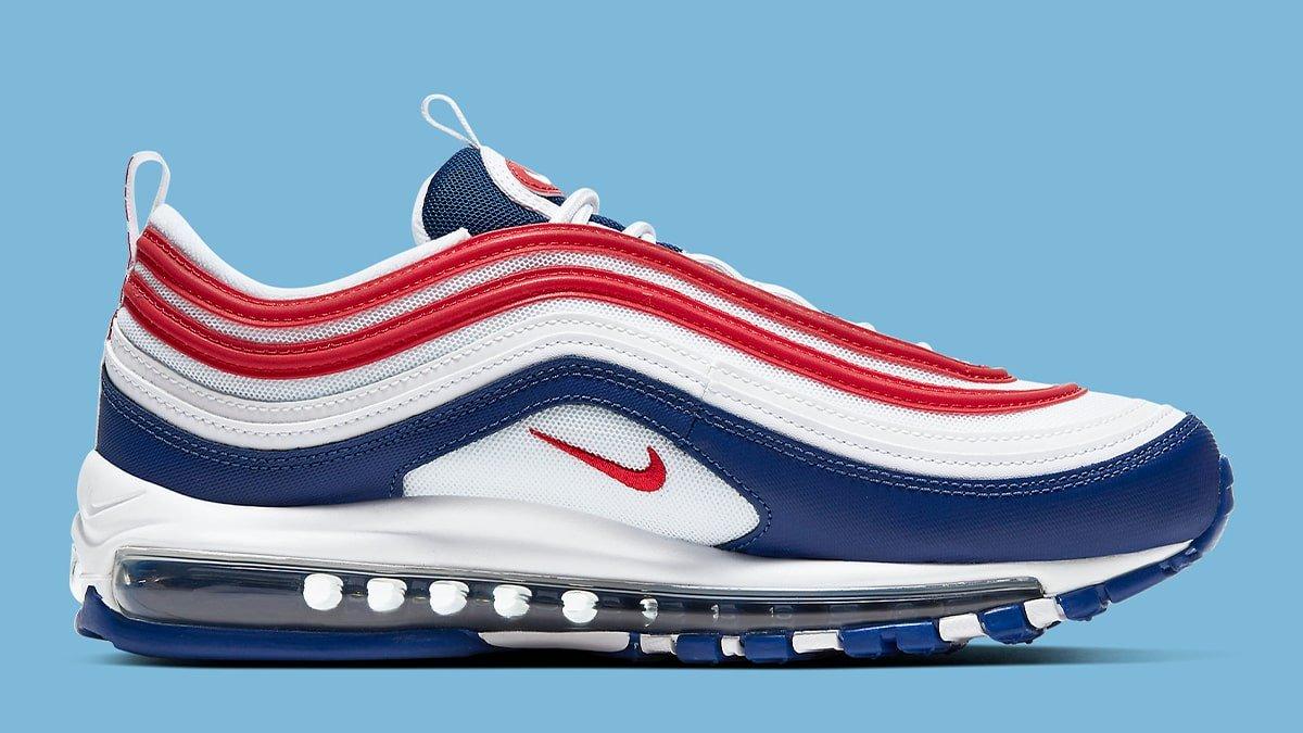Nike Air Max 97 Usa Americana Apparel Match Sneakerfits Com