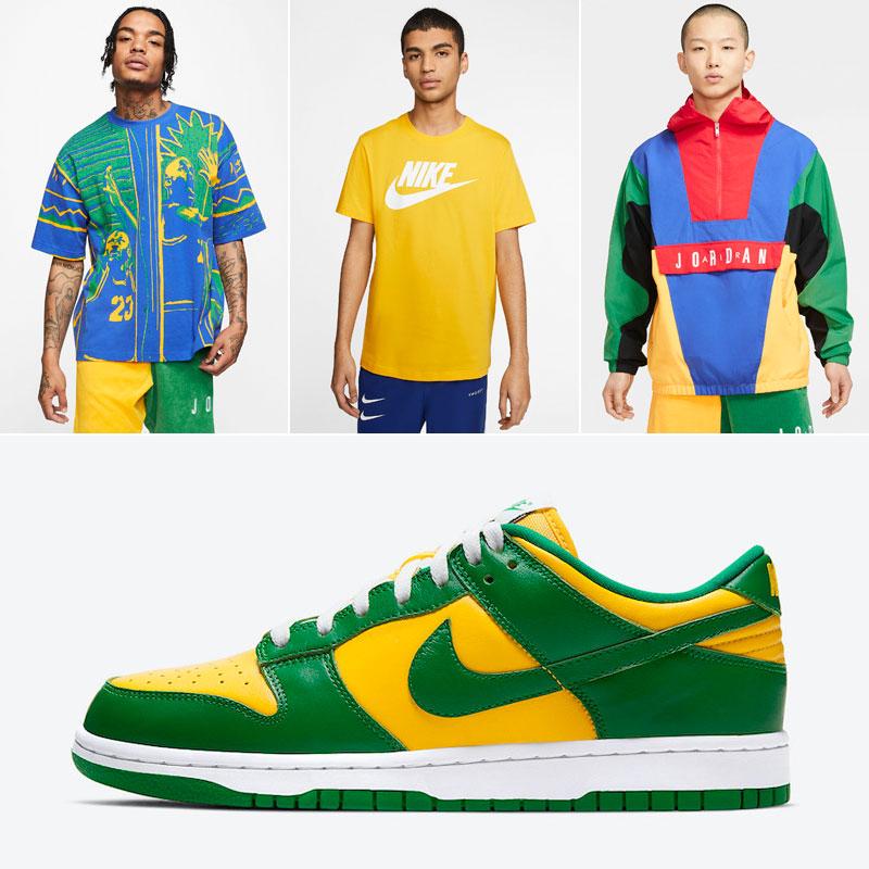 nike-dunk-low-brazil-clothing-match