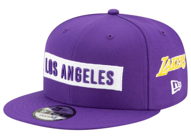 purple-metallic-jordan-4-lakers-hat-1